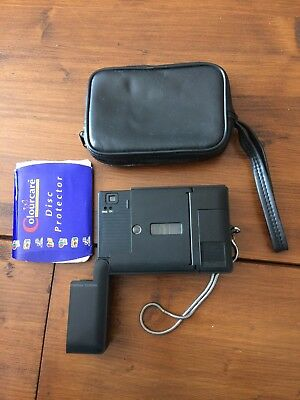 Vintage Dixons 5500 Disc Camera Includes Disc and Carry Case