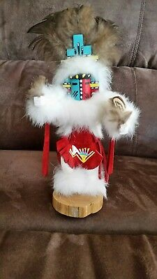 Circle Dancer Native American HEMIS Kachina Doll Signed By The Artist