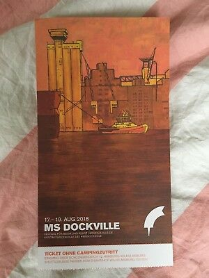 3 Tage MS Dockville Festival ohne Camping