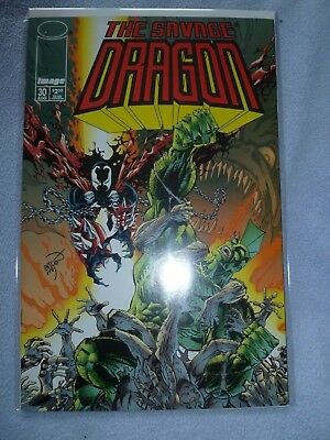 The Savage Dragon #30 Image Comics Spawn