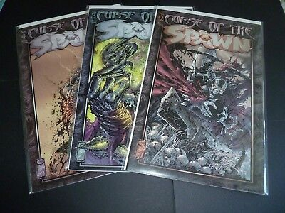 Curse of The Spawn #2, 3 + 4 Image Comics McFarlane