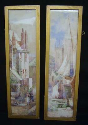 Arthur White - To £6,000 - C1900 - St Ives - Cornwall - Pair Of Watercolours