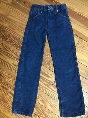 WRANGLER Jeans NWOT Boys Sz 10 Slim Cowboy Cut Blue Pro Rodeo Competition
