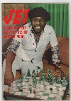 Jet Magazine - 1976 - Curtis Mayfield Keeps On Pushin - Black Americana