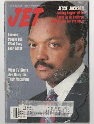 Jet Magazine - 1987 - Jesse Jackson Run For President? - Black Americana