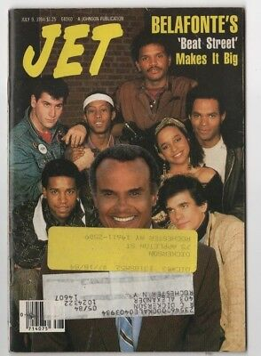 Jet Magazine - 1984 - Belafonte's Beat Street Makes It Big - Black Americana