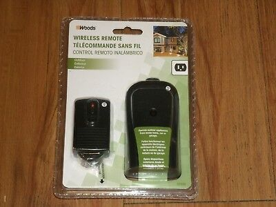 woods wireless remote new in unopened package