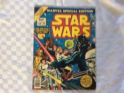 Star Wars Marvel Special Edition Part 2 Of 2 Magazine