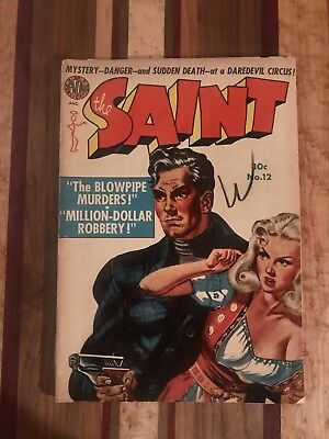 Golden Age Comic 1952 The Saint No. 12 Avon Periodicals Crime Mystery VG