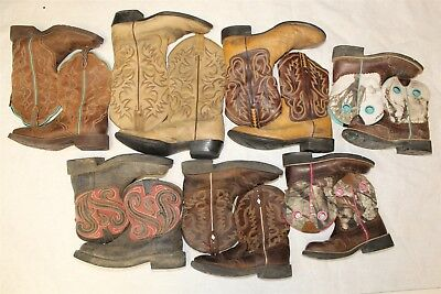 ARIAT AND JUSTIN LOT Cowboy USED REHAB Boots Wholesale dQjW