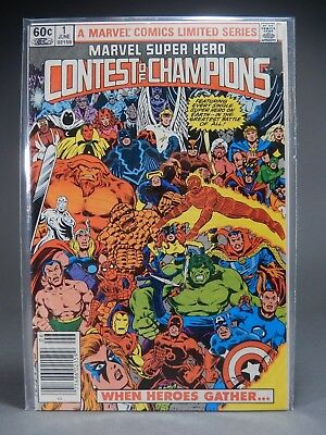 CONTEST OF CHAMPIONS # 1 Marvel Comic Book
