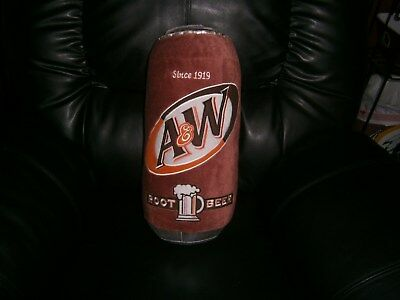 A&W Root Beer can pillow rare A&W item..
