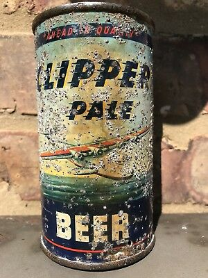 Clipper flat top beer can