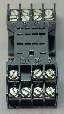 25pcs Gould Relay Socket H50SL715 - 14 pin bladed. New In Box. Panel Mount.
