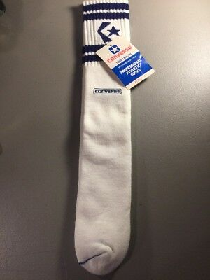 Vintage Converse Tube Socks DEADSTOCK Size 9-14 Made in USA