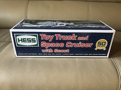 2014 Hess Toy Truck and Space Cruiser with Scout 50th Anniversary NIB Limited