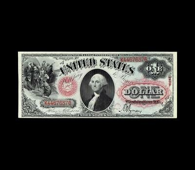 Pristine 1875 $1 Legal Tender Choice/gem Uncirculated Condition