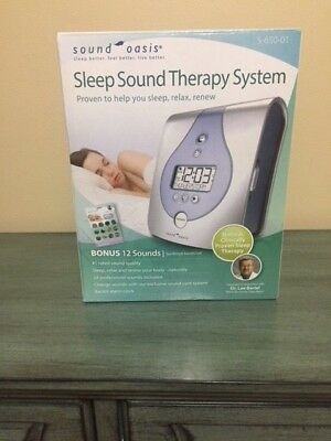 Sound Oasis Sleep Therapy System & Pillow with Speakers