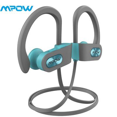 MPOW Bluetooth Headphones Sports Headset Wireless Earbuds for iPhone x 8 Samsung