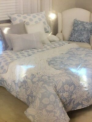 king size quilted coverlet bedspread and Pillow Shams