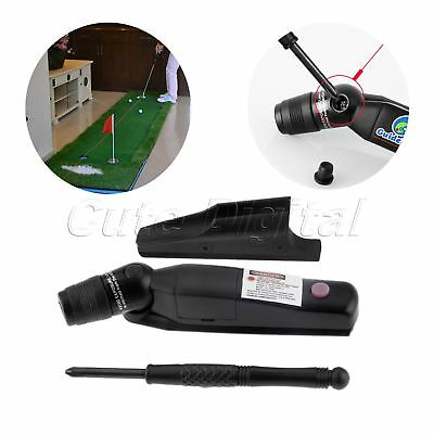 1pk Golf Putter Laser Sight Pointer Putting Training Aim Line Corrector Black