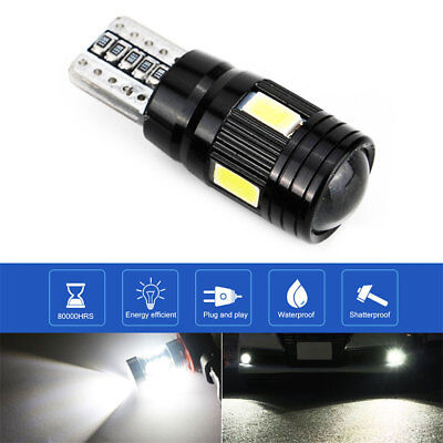 Rear Beads Car Side Light Durable T10 6 LED Light Auto Parking Tail 9201