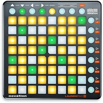 Novation Launchpad S + Launch Control + softshell bag