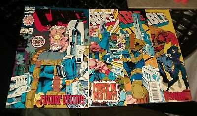 cable 1 2 3 4 marvel comics lot 1st appearance the weasel run set collection