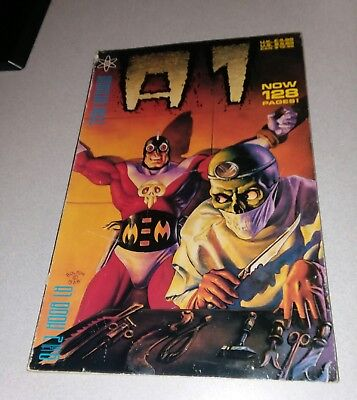A1 (Atomeka) #2 trade paperback 1989 mr monster ted mckeever bolton art tpb gn