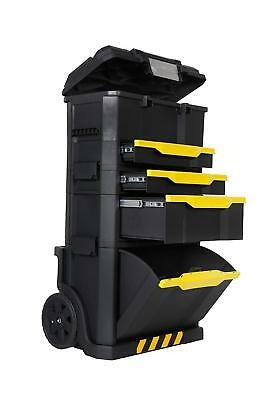 Awesome Extra Large Tool Box On Wheels Rolling Heavy Duty Plastic Storage Cabinet  Chest