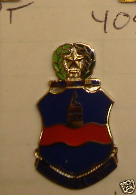 CREST,DI, 142ND INFANTRY Regiment,TEXAS Army National Guard  S-38 HALLMARK