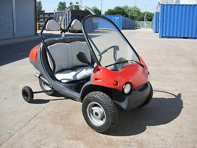 2000 QPOD FUNTECH 50cc BUBBLE CAR MICRO CAR in RED