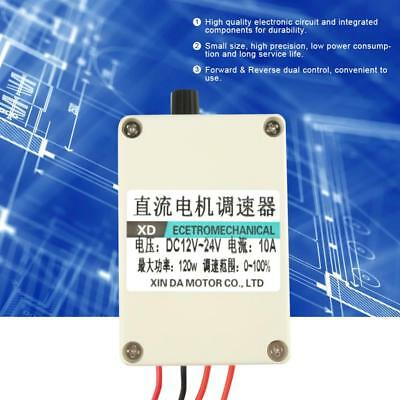 DC 12-24V Motor Variable Speed Controller Forward & Reverse Dual Control Switch