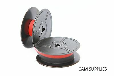 Typewriter Ribbon Spool for OLYMPIA DIN 2103 BLACK or BLK/RED