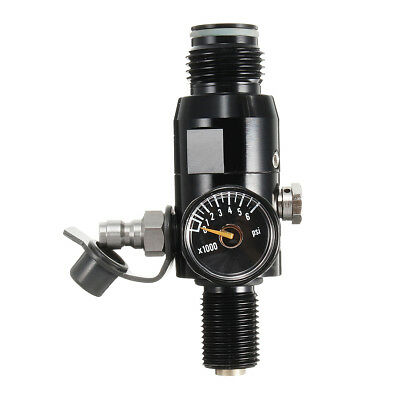 Paintball 4500 psi Regulator HPA High Compressed Air Tank Valve Reg 18UNF Thread