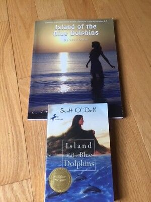 Island of the Blue Dolphins Book (LIKE NEW) & Literature Guide (NEW)