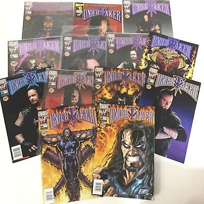 Lot of 13 Chaos Comics Undertaker Issue 1-10 + 0 & Halloween Special