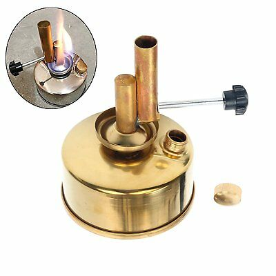 Alcohol Blast Burner Brass Alcohol Lamp Blow Torch 250ml US Free Ship