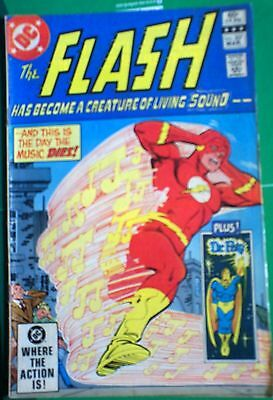 The FLASH 350 FINAL ISSUE OCT 1985 DC Comic FVF Infantino bronze age MORESAVEP&P
