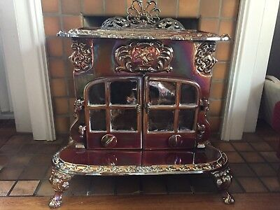 Beautiful Antique English Esse Dragon Mark II Wood & Coal Stove, Great Condition