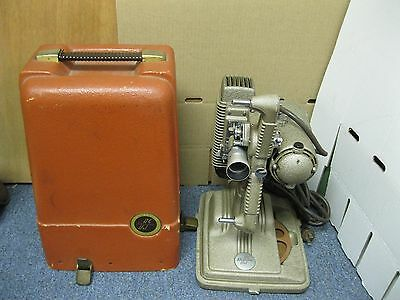 Projector 8 mm ? Vintage Revere Model 85 Projector with Reel in Case
