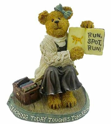 "NEW IN BOX Boyds Bears #228432 ""Miss Appleton..Story Time"" figurine"