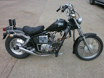 1988 HONDA JAZZ CHOPPER CRUISER 50cc SUPERSPORT in BLACK **RARE MODEL**