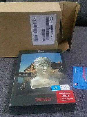 10cc Tenology 4 CD + DVD LIMITED BOXSET OUT OF PRINT GODLEY & CREME SEALED NEW