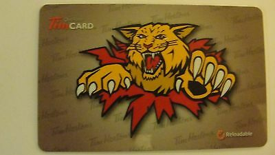 Tim Hortons Moncton Wildcats Gift Card -FD30665  Lot of 2