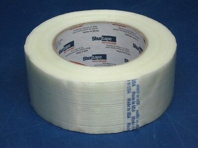 """(24) SHURTAPE 1.88"""" X 60YD HEAVY DUTY Reinforced Strapping Packing Tape"""