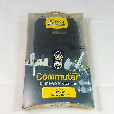Genuine Otterbox Commuter Series Case Cover Samsung Galaxy Note 7 Black New