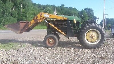 1965 John Deere 1010 Single Row-Crop Tractor With Front Loader