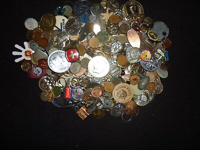 **look>> Pile O' Stuff - Coins, Ike, Kennedys,  Tokens, Jewelry, & Stuff # A-1
