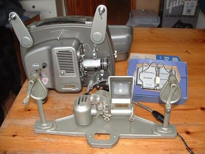 8 mm Projector and Editing equipment